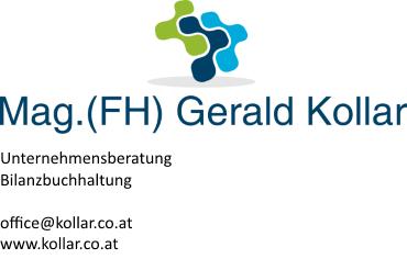 Mag. (FH) Gerald Kollar
